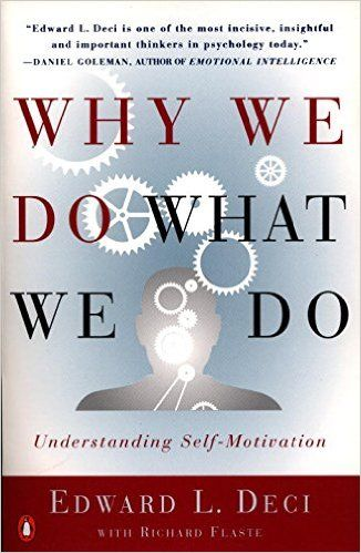 Why We Do What We Do: Amazon.co.uk: Edward Deci: 9780140255263: Books