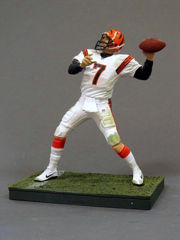 Cincinnati Bengals/ Home Jersey NFL Action Figure Set