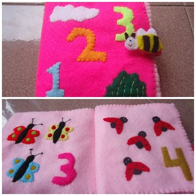 book of flanel the title learn count