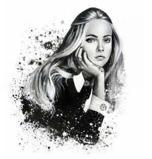 #illustration #fashionillustration #fashionportrait #portraitdrawing #illustrator #fashionillustrator #art #fashionart #fashionblogger #caradelevingne #wmagazine