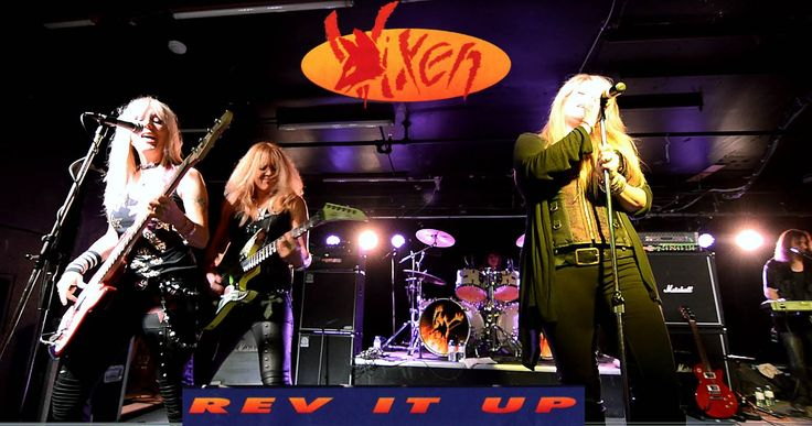 "Vixen ""Rev It Up"" 5 Songs 2014 Tour Toronto Oct 11 ("