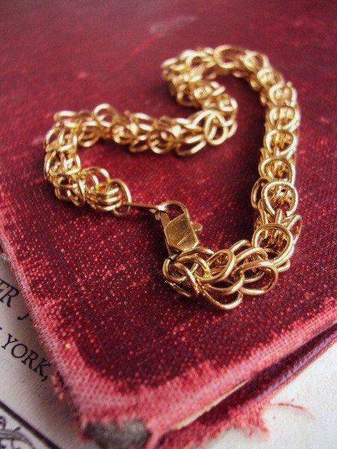 Vintage Charm Bracelet Starter Charms by primitivepincushion