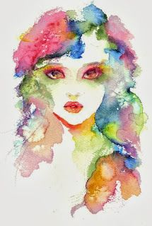 Watercolor , similar to easy watercolor portrait...