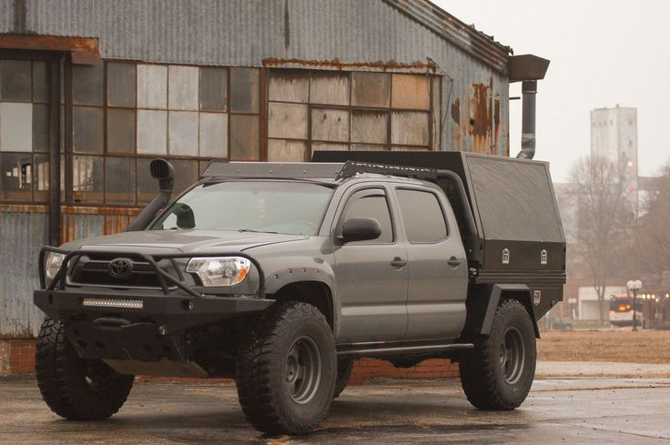 20052020 Toyota Low Height Bed Rack in 2020