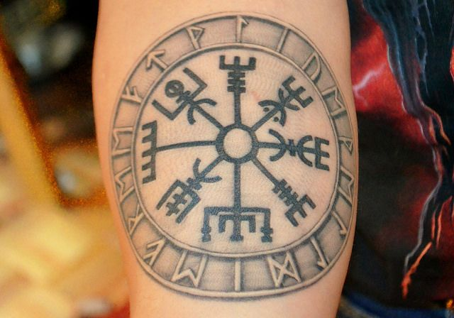 Vegvisir Tattoo. | Flickr: Intercambio de fotos