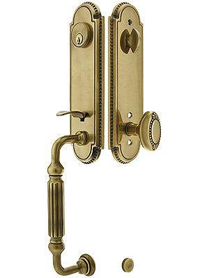 antique brass front door knobs. Another Idea For Double Door Entry Hardware. Antique Brass Front Knobs D