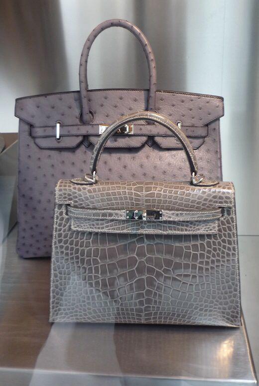 Hermès Himalayan Birkin & Crocodile Kelly Bag