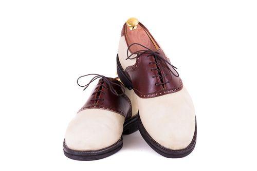 Schuhhpflege für Florsheim Sattelschuhe