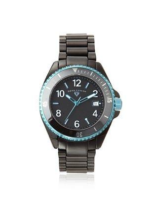 89% OFF Swiss Legend Men's 11528-BKBLBLA Luminar Black Ceramic Watch