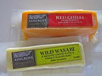 Ashgrove Tasmanian Farm Cheese.