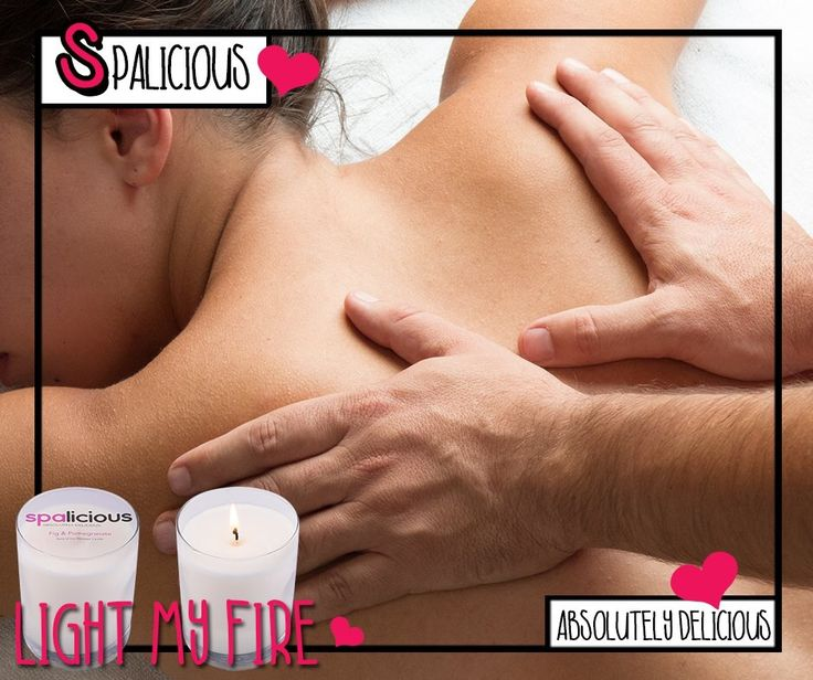 Re light the fire this valentines day with the delicious fig & pomegranate soya massage candles #spalicious