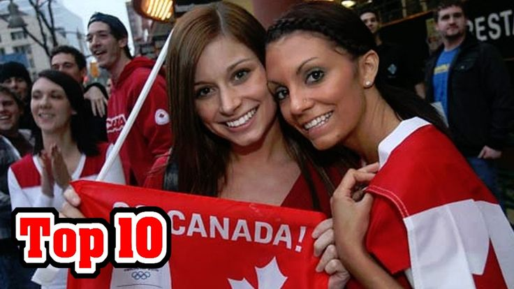 Top 10 AMAZING FACTS About CANADA!  :)