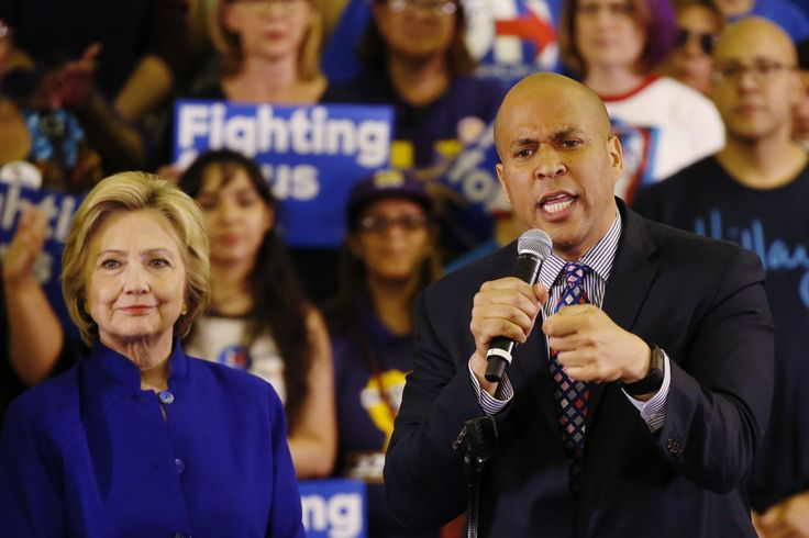 Cory Booker Fills Clinton's Neo-Liberal Shoes