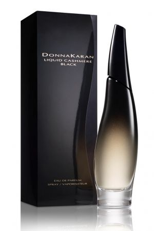 Liquid Cashmere Black is announced as a sensual, mysterious and alluring evening fragrance. Combination of black cherry and the floral heart of rose and jasmine is covered in the rich base of patchouli, sandalwood and praline.....Liquid Cashmere Black  Donna Karan for women
