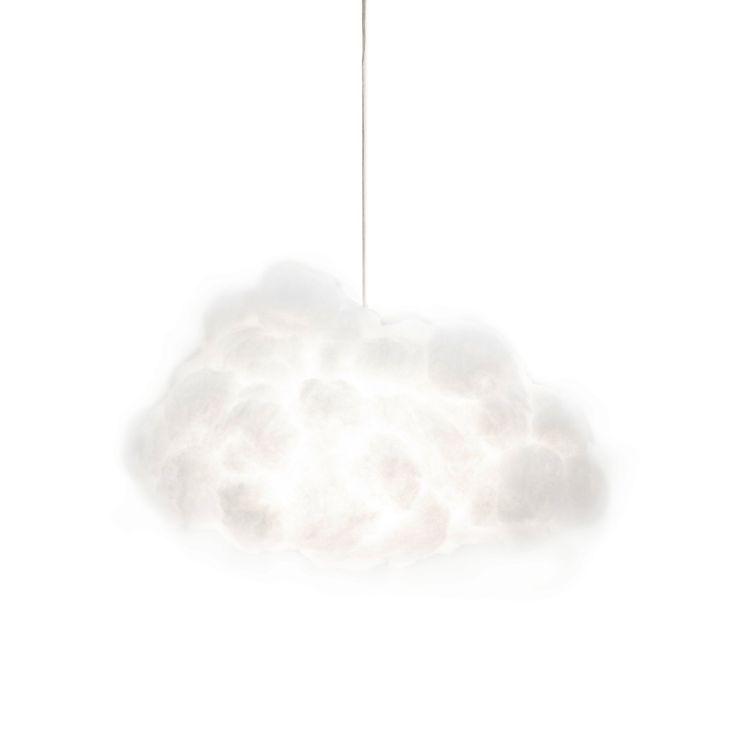 interaktive Wolken Lampe - Smart Cloud - Lautsprecher - Bewegungssensor - moderne deko - handmade für 4.305,00