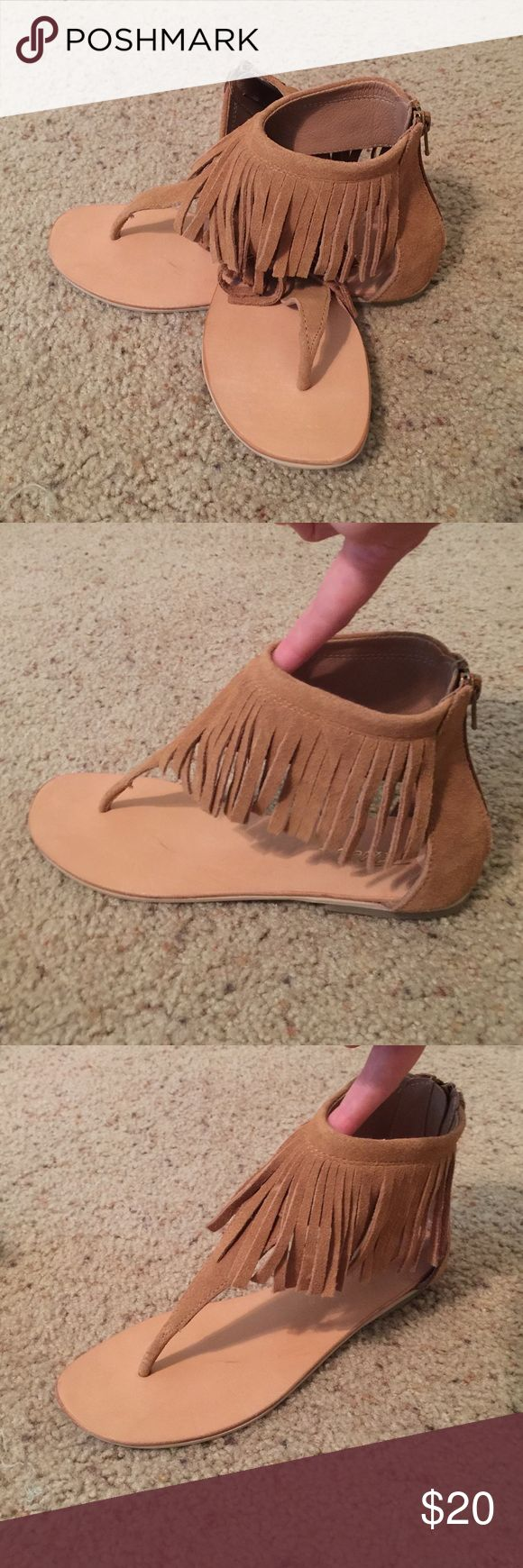 Women's Moccasin Sandals - NWB - Size 8 NWB Women's Size 8 moccasin sandals. Perfect condition. Shoes Sandals