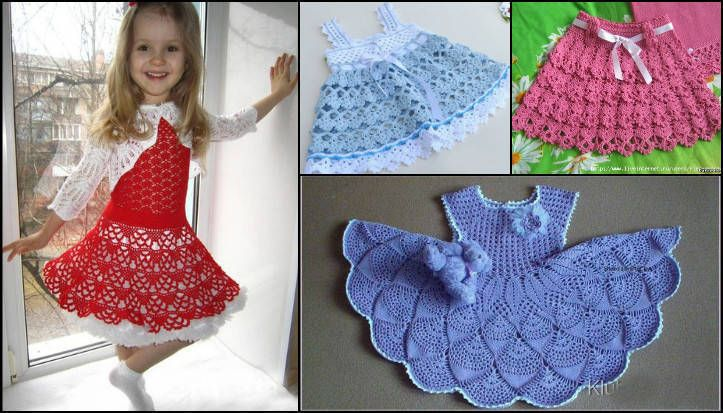 Merhaba hanımlar sizlere bugün kız çocukları için çeşit çeşit örgü elbise modelleri ve yapılışları örnekleri paylaşacağım.