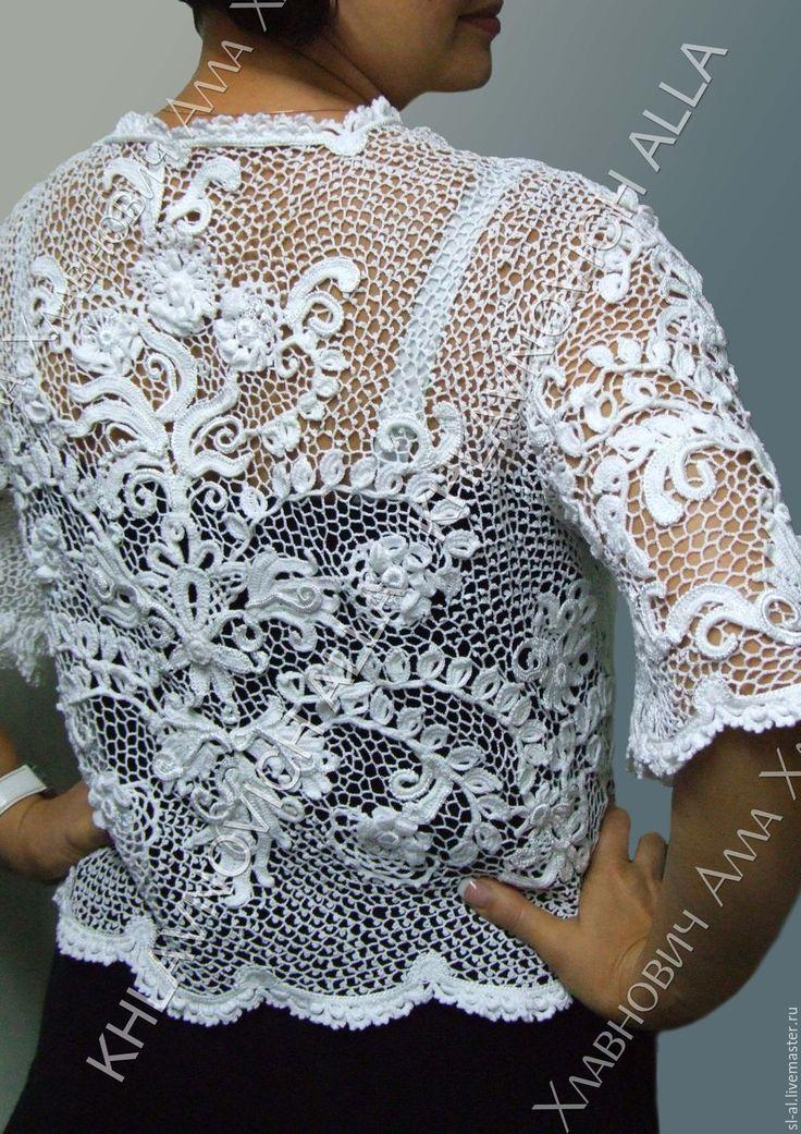Mejores 3493 imágenes de irish crochet en Pinterest | Crochet ...