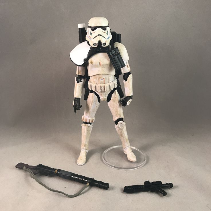 Star Wars Black Series Sergeant Sandtrooper EE Exclusive