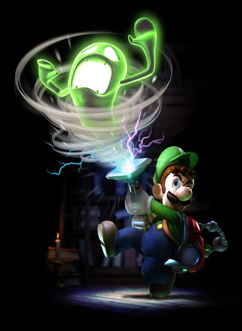 Luigi's Mansion - Can't wait till the new one is out!