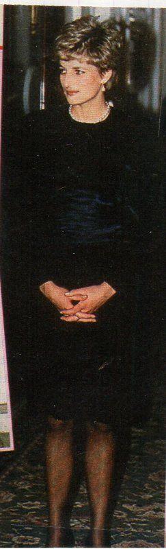 PRINCESS DIANA et PRINCE EDWARD Au COMMONWEALTH DAY RECEPTION MARLBOROUGH HOUSE, le 08 mars 1993
