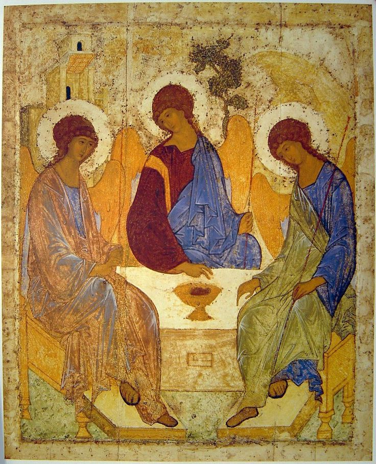 Frescoes, Andrey Rublev more free materials on our site: http://www.versta-k.ru/en/articles/ The best books about the technology of the icon-painting: http://www.versta-k.ru/en/catalog/66/ the materias for the icon-painting: http://www.versta-k.ru/en/catalog/14/ http://www.versta-k.ru/en/catalog/95/ The delivery to any point of the world