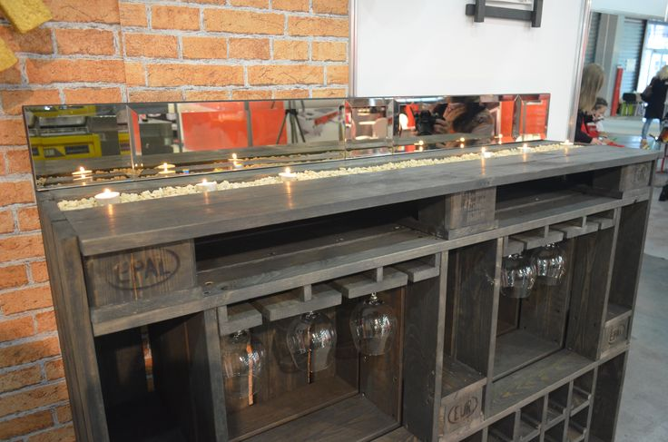 Камин-бар - невероятное изобретение нашего коллектива!))