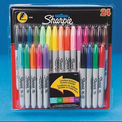 Sharpies - My Favorite Art Supplies.