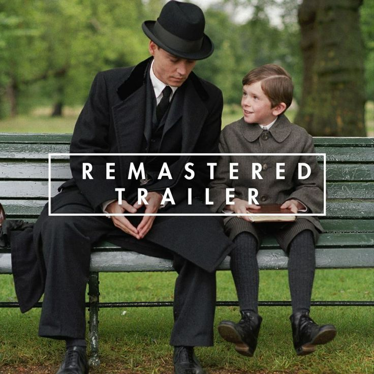 Saw #FindingNeverland in the theater and always meant to watch it again, it maybe my favorite Johnny Depp movie next to Chocolat - tinseltine.com  Finding Neverland - remastered trailer