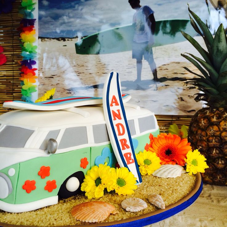 Cake / Surf Party Decoration  Zurich-Switzerland