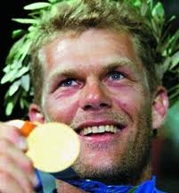 How can you not love an Olympian called Robert Scheidt (pronounced 'Shite')?