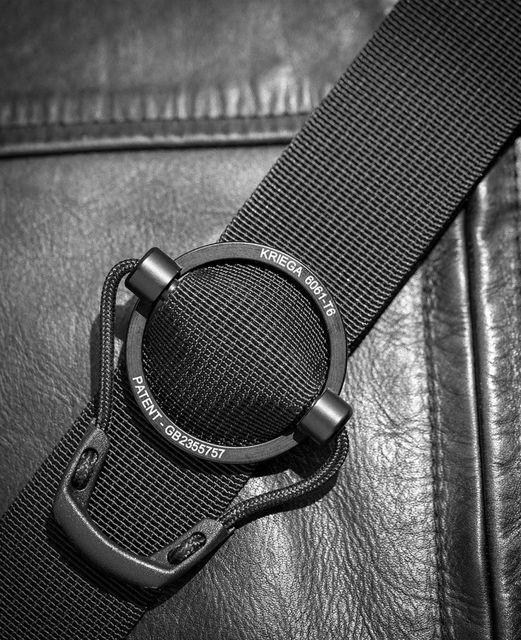 Shoulder strap, adjust, black, tape, pull, Krega, leather