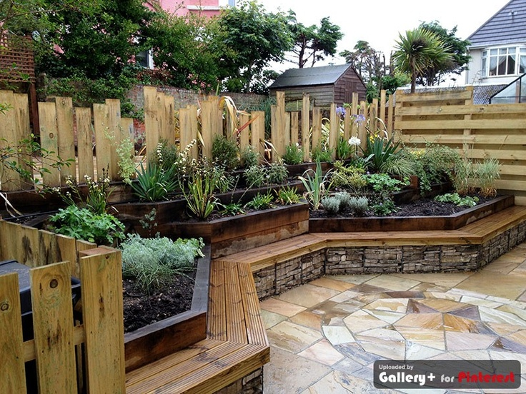220 best Rock Cage images on Pinterest Gabion wall Garden ideas