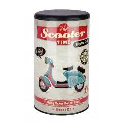 WENKO Wäschetruhe Vintage Scooter, Badhocker