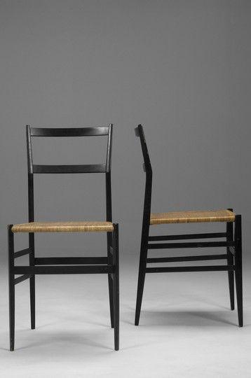 Gio Ponti Superleggera Chairs