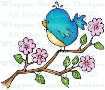 Conway Tweetie - Birds - Animals - Rubber Stamps - Shop