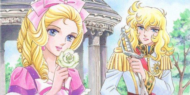 """Dettaglio di un'immagine promozionale de """"Le rose di Versailles""""."""