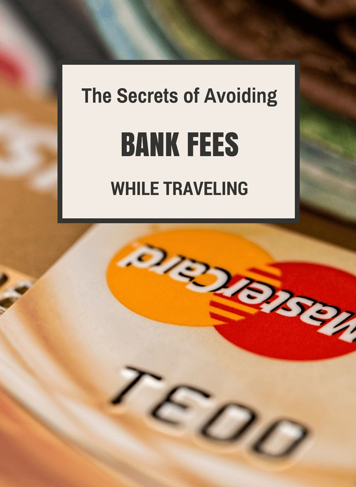 How to avoid paying 50 EUR a month on bank fees? Read here the guide and start saving money for more traveling.
