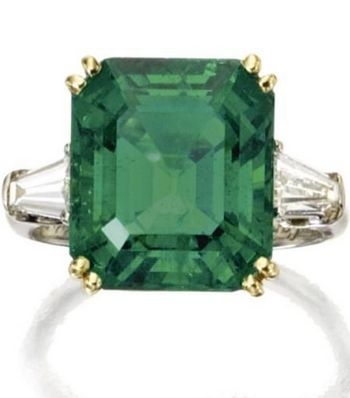 Cartier Colombian emerald and diamond ring, Sotheby's | dazzling Selection of Cartier jewelry sold @ Sotheby's, Magnificent Jewels, New York