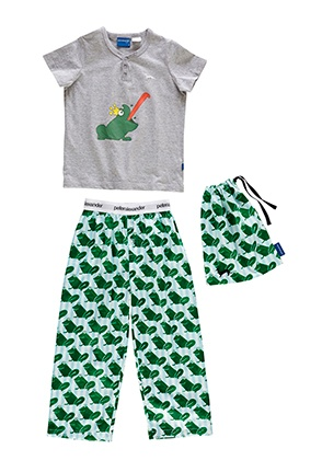 Image for Jnr Boys Froggy Pj Set from Peter Alexander