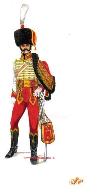 Naples Royal Guard 1809