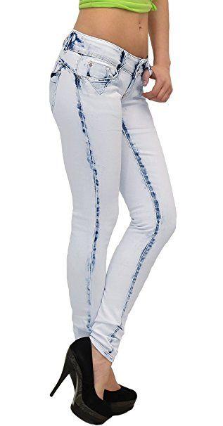 629e2cbc586f6f by-tex Damen Jeans Damen Röhrenjeans Damen Hüftjeans Skinny Damen Jeanshose  aktuelle Modelle # S400