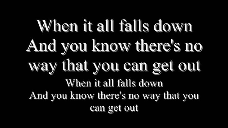 Adelitas Way - All Falls Down Lyrics