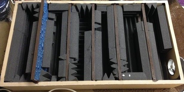 Soundproof box lid for air compressor