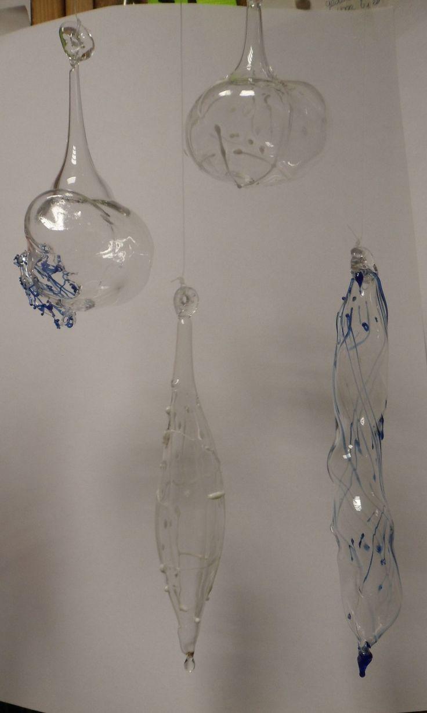 handgeblazen glazen ornamenten