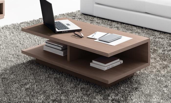 Kibuc muebles y complementos mesa de centro trazos for Trazos muebles
