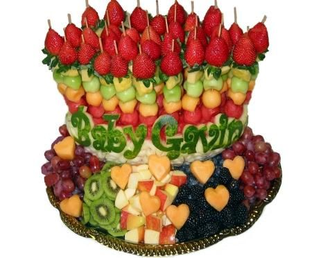 Fruit Trays for Baby Shower | Profruit shop,Edible Sculptures,MoneyFlower Bouquet,Fruit Baskets