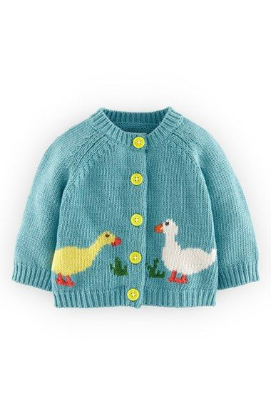 mini boden Easter cardigan