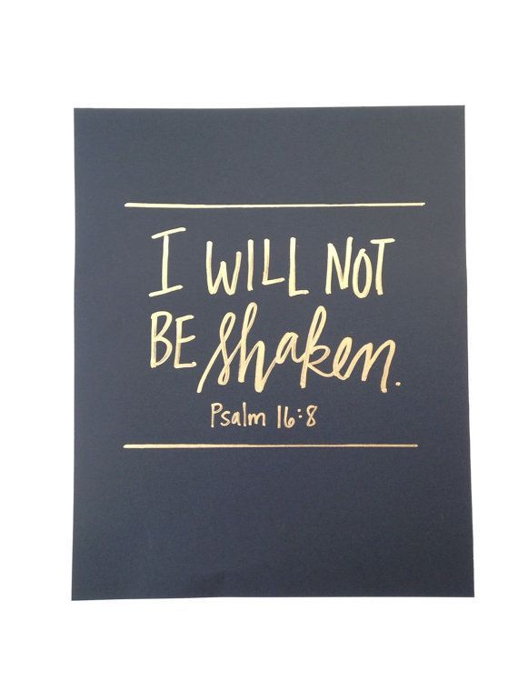 Psaume 16:8 Bible Verse