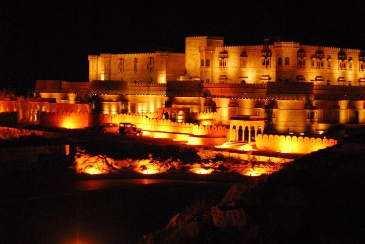 Night view of Suryagarh www.suryagarh.com